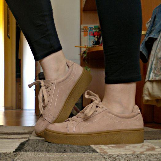 marcas reconocidas precio justo adecuado para hombres/mujeres Zapatillas plataforma rosas. - BERSHKA